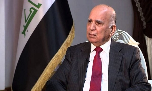 Iraqi foreign minister due in Tehran